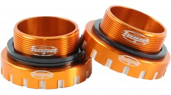 Hope BSA Edelstahl Innenlager 68/73/83/100/120mm (für 30mm Wellen) orange