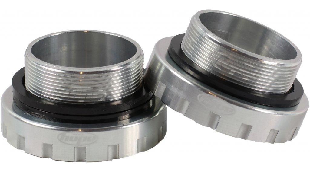 Hope BSA Edelstahl Innenlager 68/73/83/100/120mm (für 30mm Wellen) silver