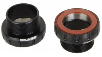 rotor BSA30 bottom bracket BSA 68/73mm steel   black