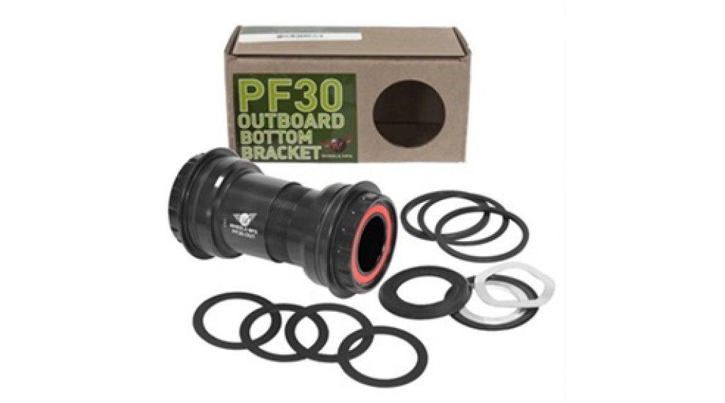 Wheels Manufacturing PF30 Outboard Zero Ceramic Innenlager für SRAM/Truvativ/GXP 22/24mm black