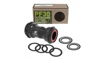 Wheels Manufacturing PF30 Outboard Zero Ceramic Innenlager für Shimano Hollowtech II 24mm black