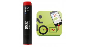 NC-17 Connect AppConGT#1 Puffer rechargeable battery Power bank for hubs dynamo black/red