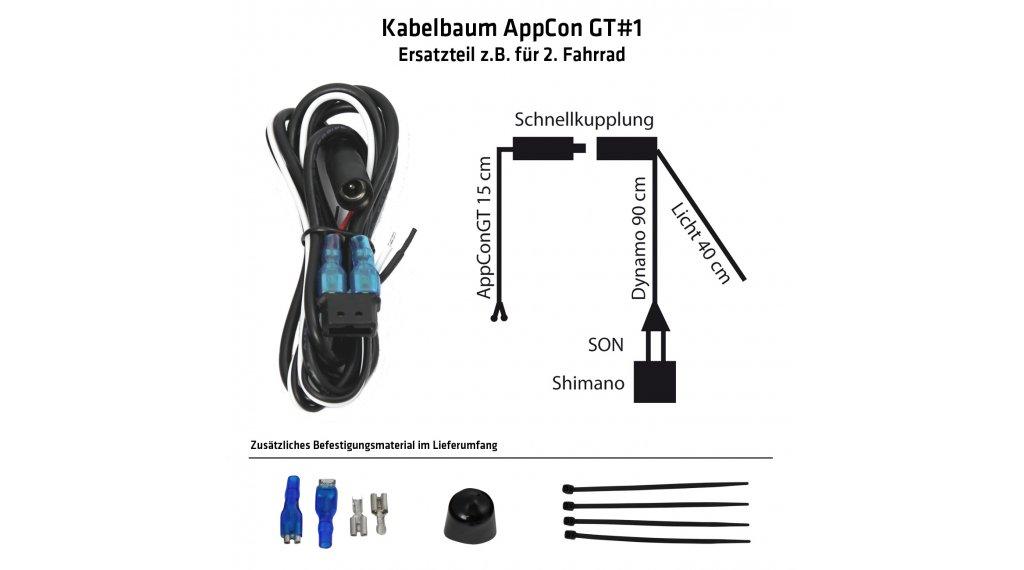 17 Connect Appcongt#1 Ersatztei kabel/snoer voor dynamo/verlichting ...