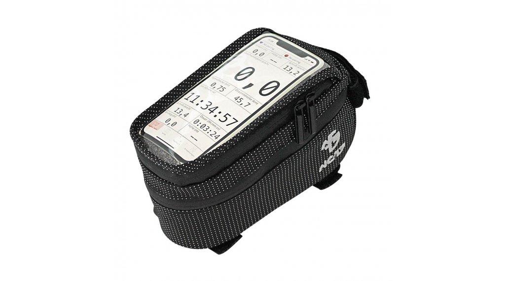 NC-17 Connect Smartphone Tasche für Oberrohr schwarz dot