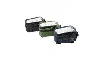 NC-17 Connect Smartphone Tasche für Oberrohr grün dot