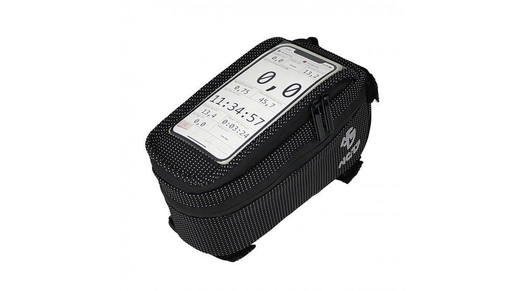 NC-17 Connect Smartphone Tasche für Oberrohr XL schwarz dot