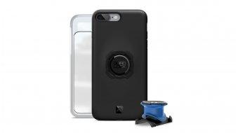 Quad Lock bike kit iPhone stem/- handle bar holder + casing with Haltevordirection black/blue
