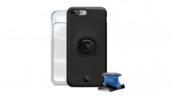 Quad Lock Bike Kit iPhone potencia/-soporte para manillar + funda con Haltevorrichtung negro/azul