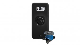 Quad Lock bike kit Samsung Galaxy S8 stem/- handle bar holder + casing with Haltevordirection black
