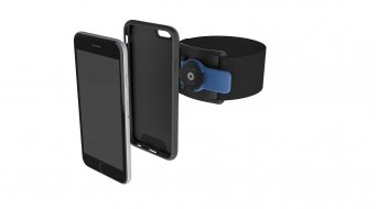 Quad Lock Run Kit iPhone Lauf-Armband + Hülle mit Haltevorrichtung black/blue