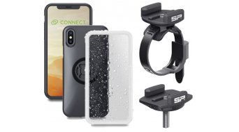 SP Connect Bike Kit Fahrradhalterungs-Kit 适用于 iPhone 黑色
