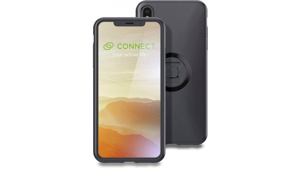 SP Connect Phone Case Smartphone-Hülle für iPhone XS Max schwarz