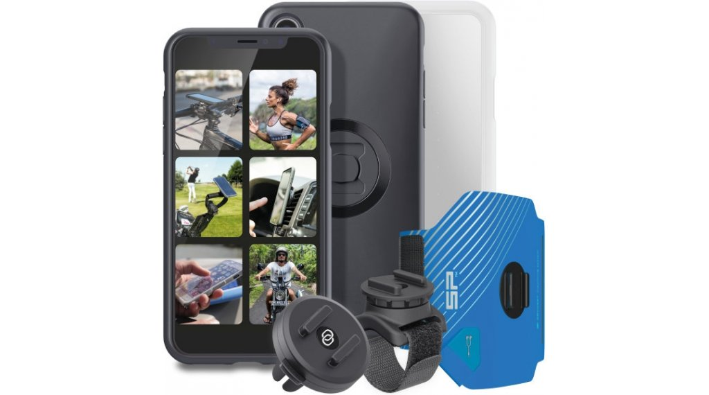 SP Connect Multi Activity Bundle Universal-Halterungs-Set für iPhone XR schwarz