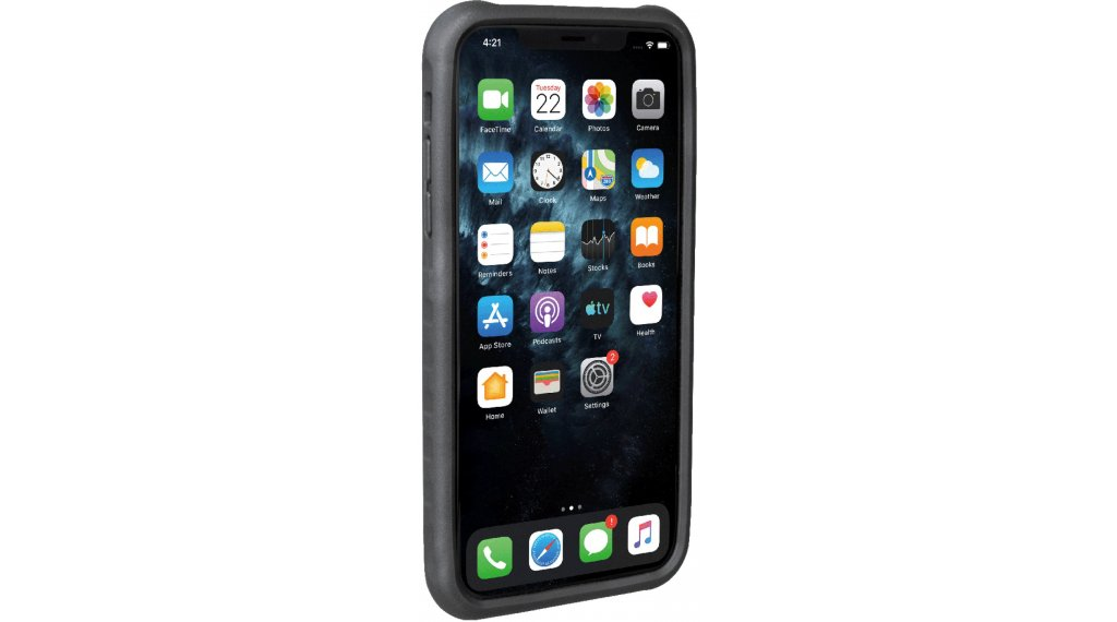 Topeak iPhone RideCase (inkl. Halter) für iPhone 11 Pro Max black/grey