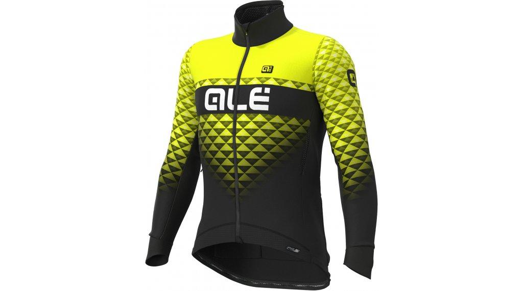 Alé Hexa DWR Stretch PRS giacca da uomo mis. XL nero/fluo giallo