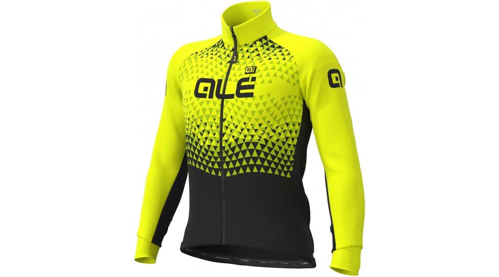 Alé Summit DWR Solid giacca da uomo mis. M nero/fluo giallo