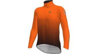 Alè K-Tornado DWR Klimatik giacca da uomo . bordeaux/fluo arancione