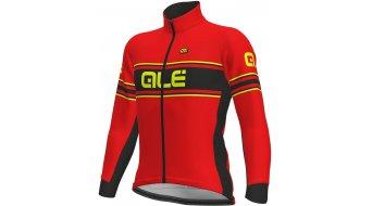 Alè Vetta DWR Solid giacca da uomo . red/fluo yellow