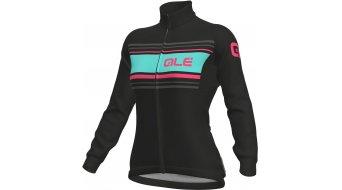 Alè Sinousa DWR Solid giacca da donna . black/fluo pink