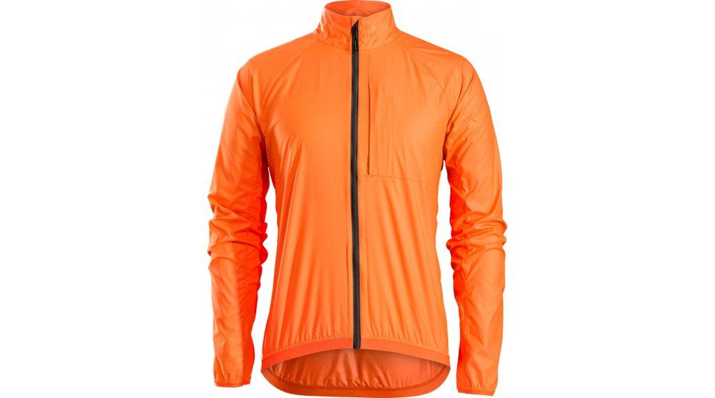 Bontrager Circuit Windshell 夹克 男士 型号 S (US) radioactive 橙色