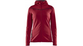 Craft Eaze Sweat Hood Kapuzenjacke Damen Gr. M rhubarb - MUSTERKOLLEKTION