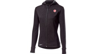 Castelli Milano casual jacket ladies size S melange light black