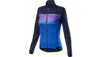 Castelli Como jacket ladies savile blue/rescue blue