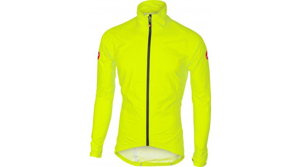 Castelli Emergency Rain Jacke Herren Gr. M yellow fluo