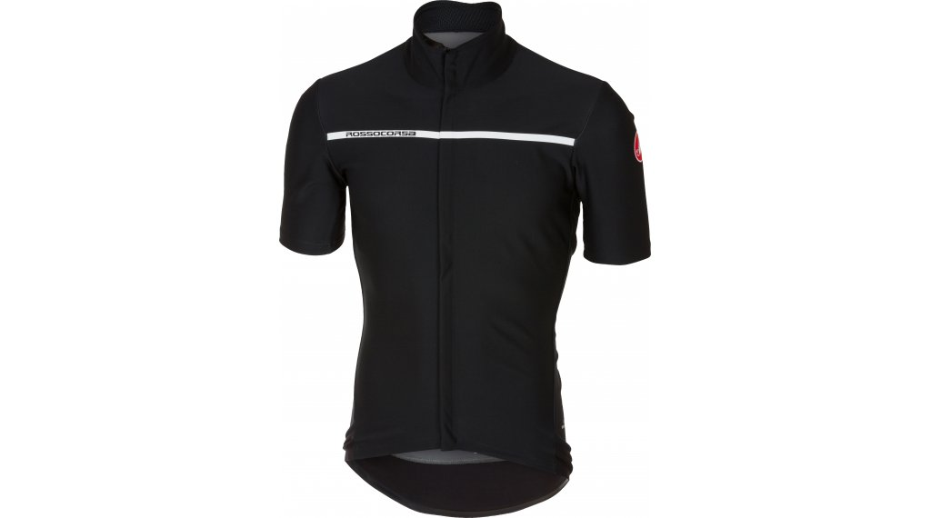 Castelli Gabba 3 Windstopper rain- jersey short sleeve men light black af1c8b9b7