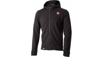 Castelli Milano casual jacket men melange light black