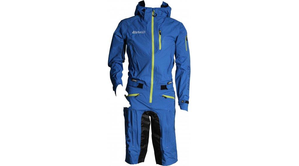 Dirtlej DirtSuit Classic Edition Regenanzug Gr. XS blue/lime