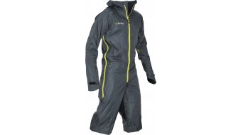 Dirtlej Dirtsuit Light Edition Regenanzug grey/yellow