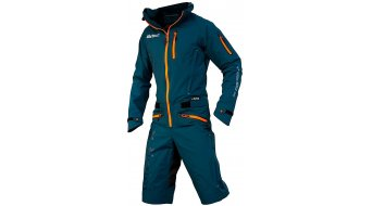 Dirtlej DirtSuit Pro Edition pluieanzug hommes taille sapphire blue/orange