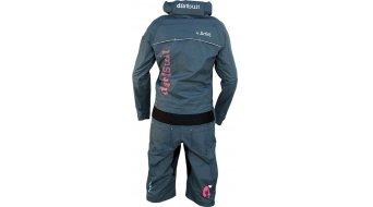 Dirtlej DirtSuit Pro Edition Regenanzug Damen Gr. XS azure blue/peach