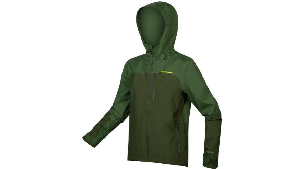 Endura SingleTrack MTB Jacke Herren Gr. S forest green