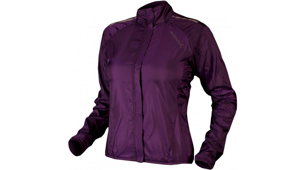 Endura Pakajak Jacke Damen-Jacke Rennrad Flat Packed Gr. L purple