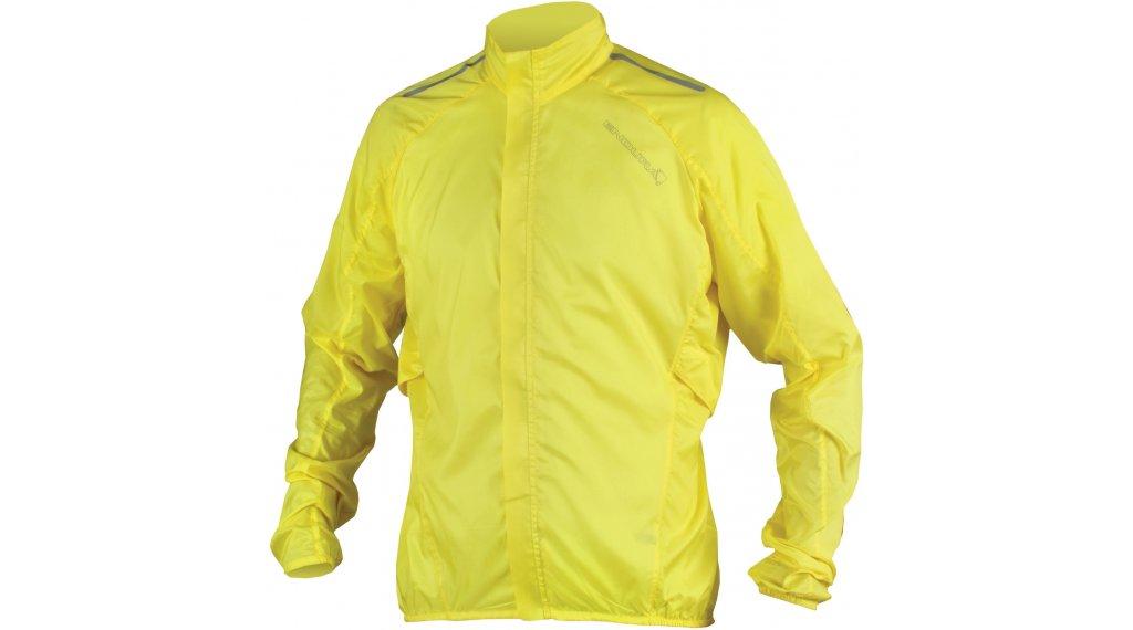 Endura Pakajak giacca da uomo bici da corsa Showerproof Ball Packed mis. S hi-viz yellow