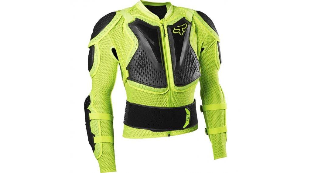 Fox Titan Sport 保护外套 男士 型号 S flo yellow