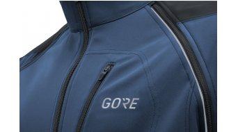 GORE C3 Windstopper Phantom Zip-Off Jacke Herren Gr. L deep water blue/black
