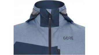 Gore C5 Gore-Tex Infinium Hybrid jack met capuchon heren maat S deep water blue