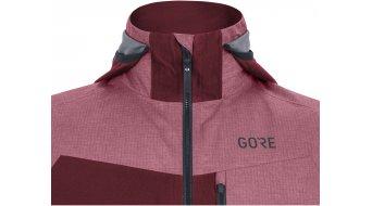 Gore C5 Gore-Tex Infinium Hybrid jack met capuchon heren maat. M chestnut red