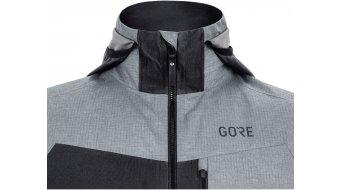 Gore C5 Gore-Tex Infinium Hybrid jack met capuchon heren maat S black/terra grey