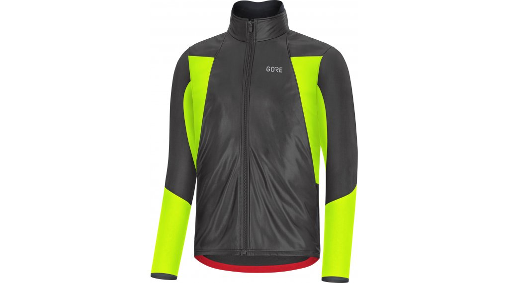 Gore C5 Gore-Tex Infinium thermo Soft Lined jacket men size M black/neon yellow