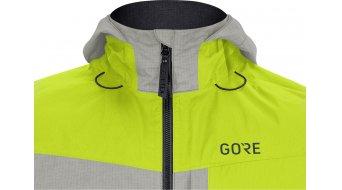 GORE C5 Gore-Tex Trail Kapuzenjacke Herren Gr. S citrus green/terra grey