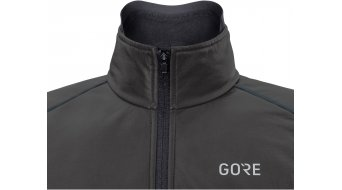 GORE C5 Gore-Tex Infinium Thermo Soft Lined Jacke Damen Gr. S (36) black/hibiscus pink