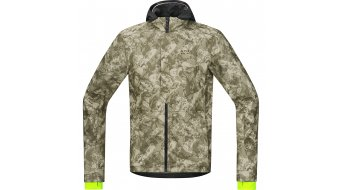 GORE Bike Wear Element Urban Jacke Herren-Jacke Print Windstopper Soft Shell Gr. L camouflage