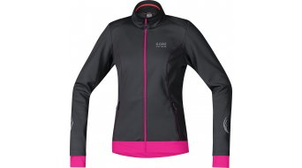 GORE Bike Wear Element Jacke Damen-Jacke Windstopper Soft Shell Lady Gr. 42 black/magenta