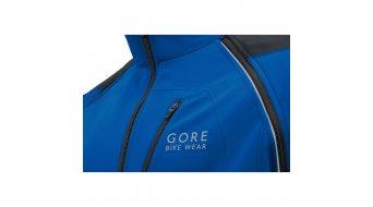 Gore Bike Wear Phantom Plus Gore ® Windstopper® Zip-Off pánská bunda velikost M brilliant blue/black