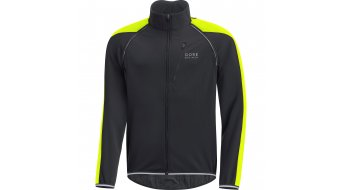 GORE Bike Wear Phantom Plus Gore® Windstopper® Zip-Off chaqueta Caballeros neón