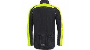 Gore Bike Wear Phantom Plus Gore ® Windstopper® Zip-Off pánská bunda velikost S black/neon yellow